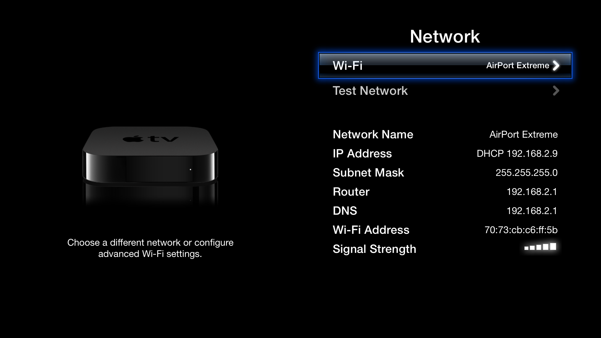 Wired apple tv network wire center apple tv 2nd and 3rd generation troubleshooting wi fi networks rh administrivia com apple tv airplay wired network apple tv loses wired network connection asfbconference2016 Images