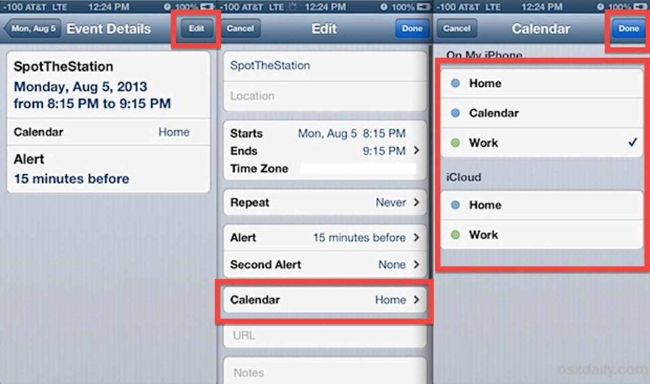 Create An Event On Your Iphones Calendar